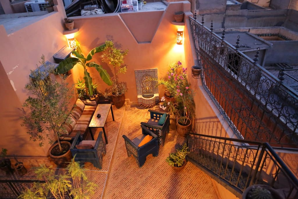 Best place to stay in marrakech chambres d 39 h tes louer for Airbnb marrakech