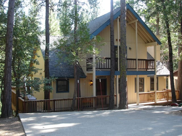 Friends Lodge in Yosemite NP 2303sf - Wawona - Rumah