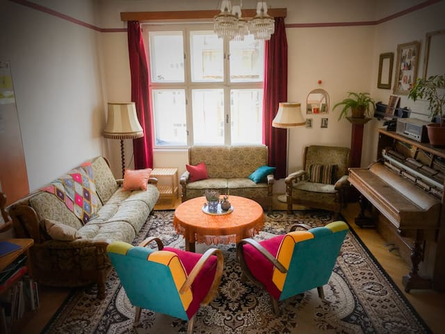 The Common Room is the heart of the hostel. Warm, inviting and a great place to meet your fellow travellers!