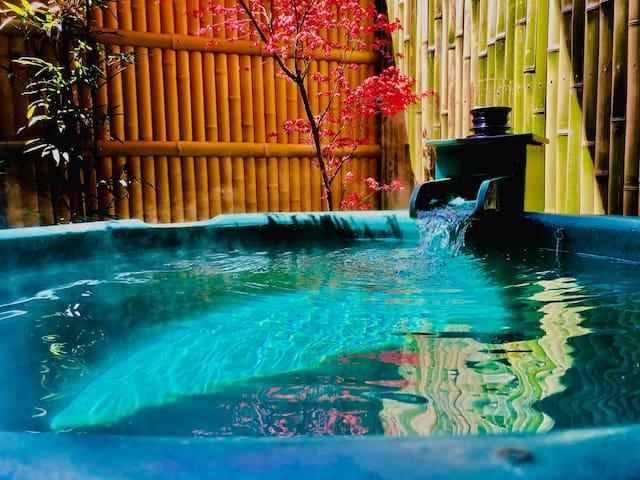 Private Villa & Spa 露天風呂付き天然温泉/24時間滞在ロングステイ(無料送迎)