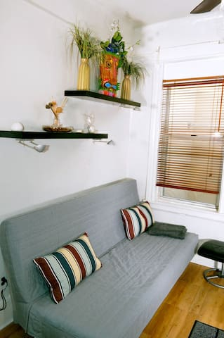 2. Private 1BR Suite in Shared Marine Park Apt.