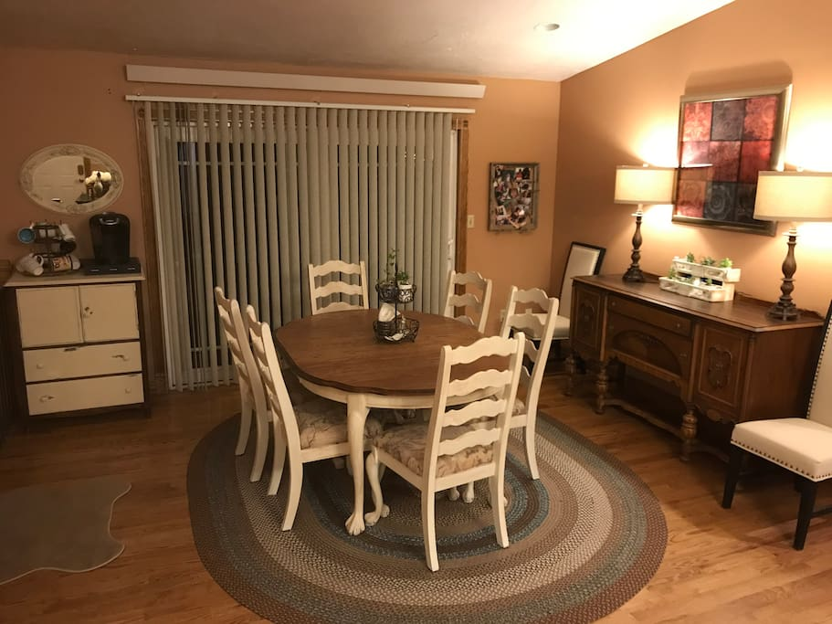Dining Room - Extra Leaf for Table Available.