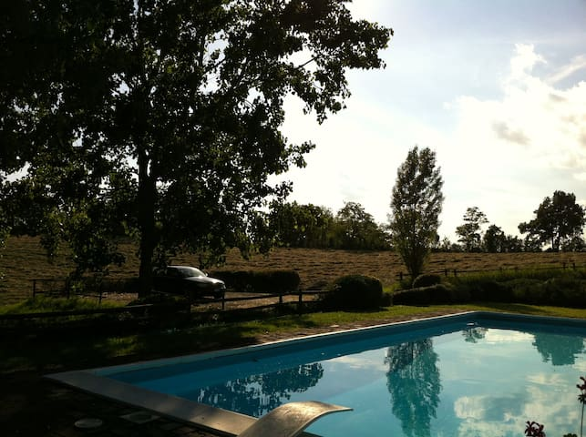 Indipendent country house with pool - Alessandria