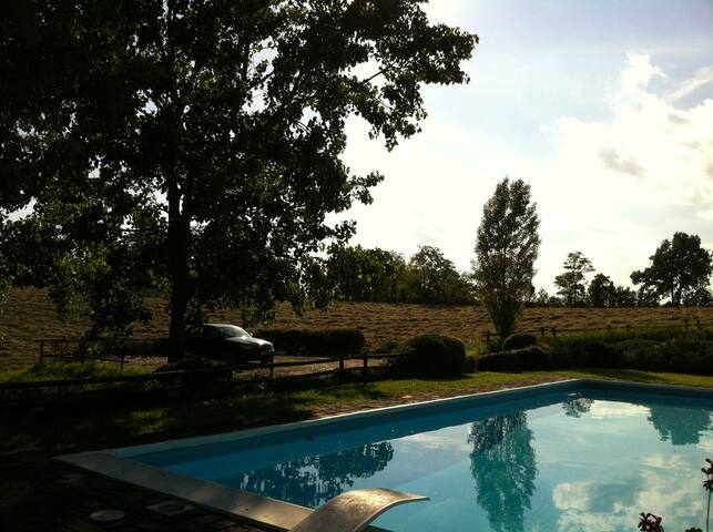 Indipendent country house with pool - Alessandria - Casa