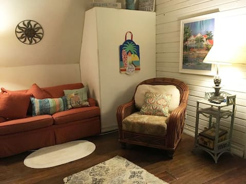Easy chair and twin sofa bed