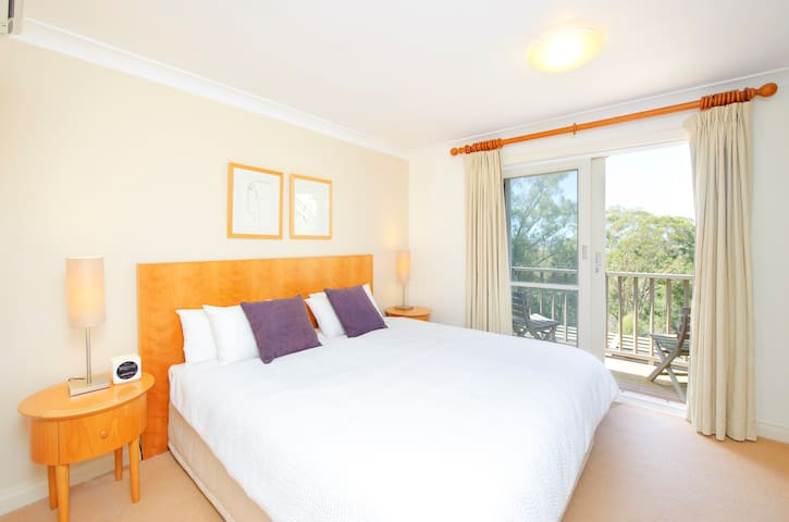 2 bedrooms can be configured as