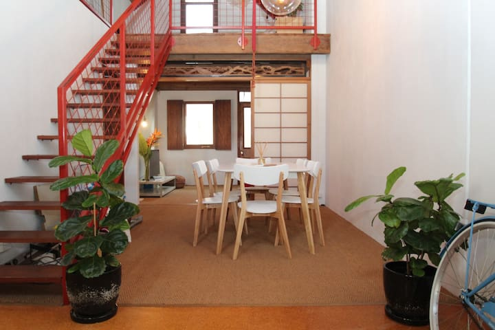Loft living in the CBD in your own private oasis