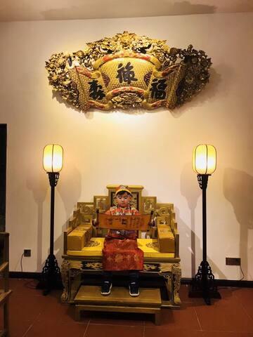 潮州潮庭客栈--尊享宫廷式庭院2楼(位于古城区内,近牌坊街、开元寺、广济桥、十大古巷、西马路)
