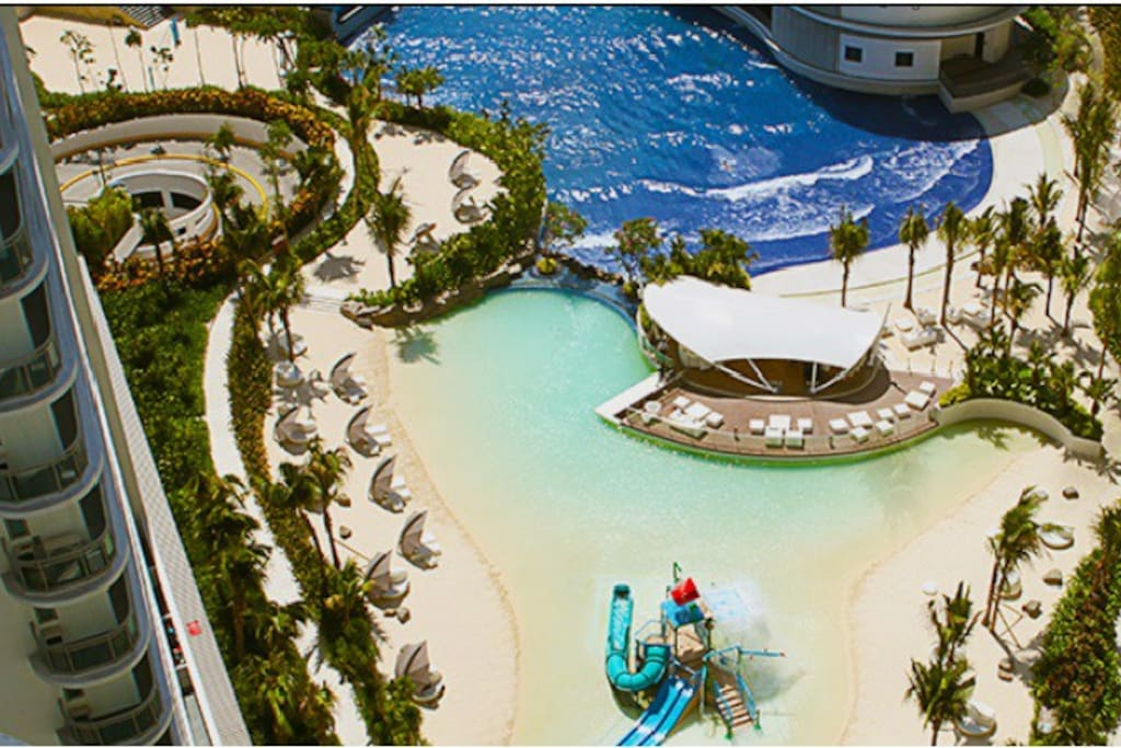 Manila's largest Family wave pool with regular wave intervals