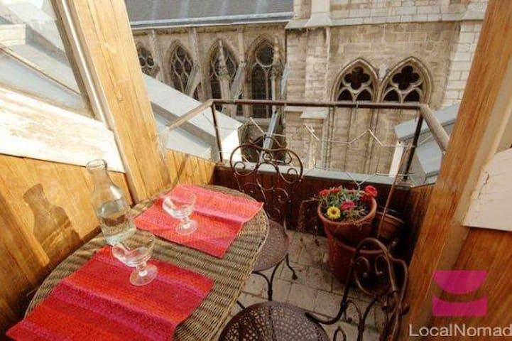 NOTRE DAME DE PARIS - LATIN QUARTER - Paris - Apartamento