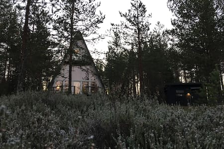 Unique cabin High Coast, sea and forest view