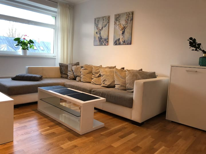 Cozy apartment in the City Centre + free parking