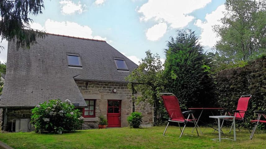 Maison typique en Bretagne