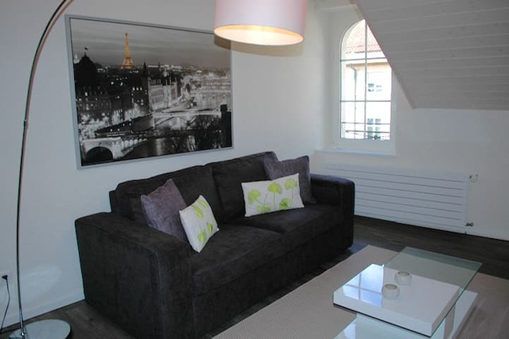 Stunning mezzanine in city center - Morges - Apartmen