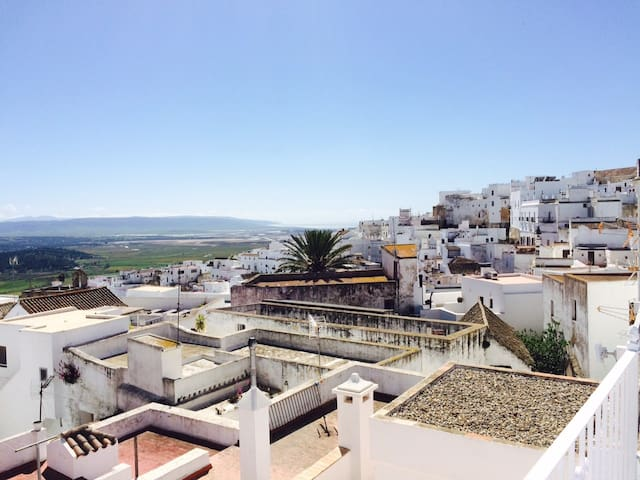 Flat in Vejer with Private Parking, WIFI & SeaView - Vejer de la Frontera - Apartmen