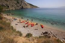 sea kayaking- Vruja bay