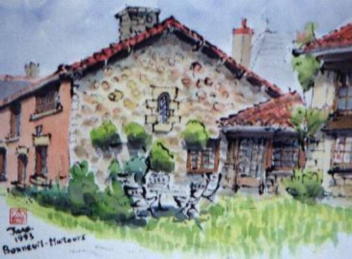 Gite rural de Bonneuil-Matours