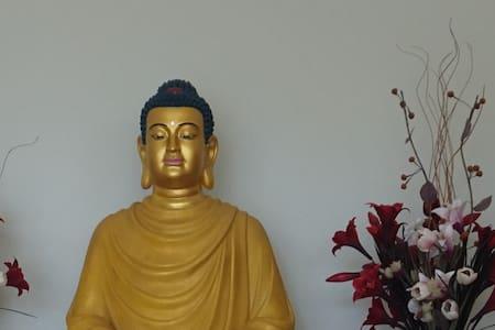 Buddha house on 5 bush acres