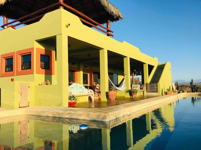 Baja Hacienda with Stunning Views and a Lap Pool