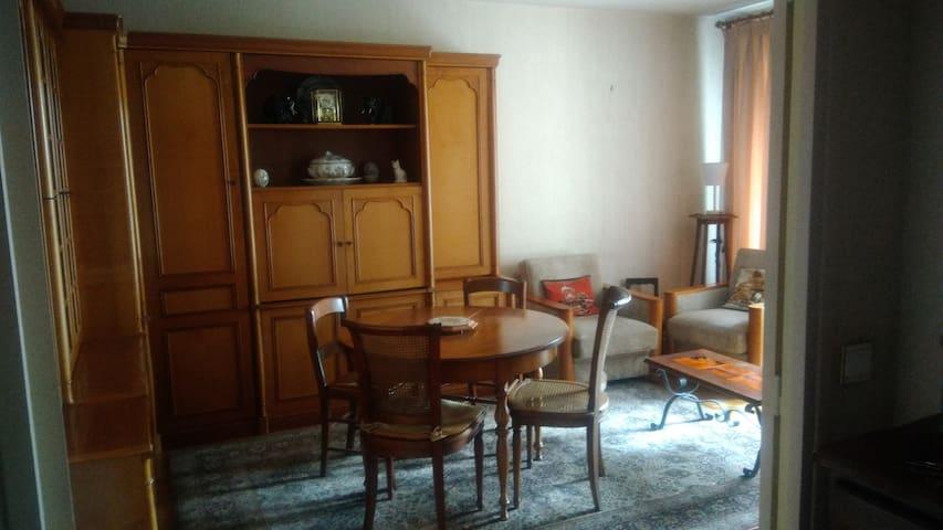 l'appartement au style années 80