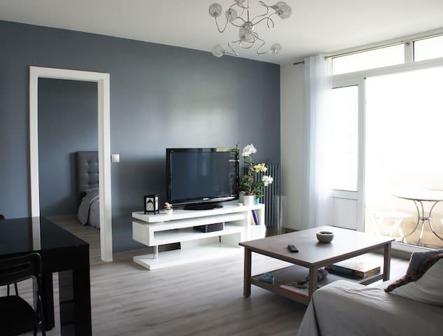 Appartement moderne et lumineux près de Paris - Ivry-sur-Seine - Leilighet