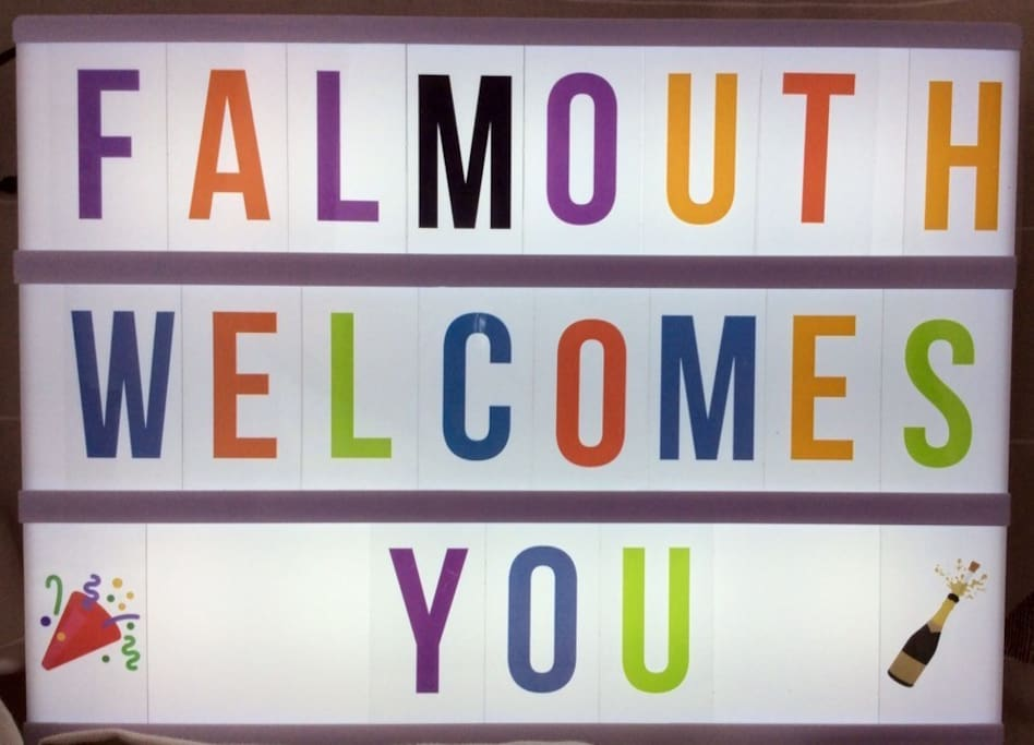 Falmouth welcomes you!
