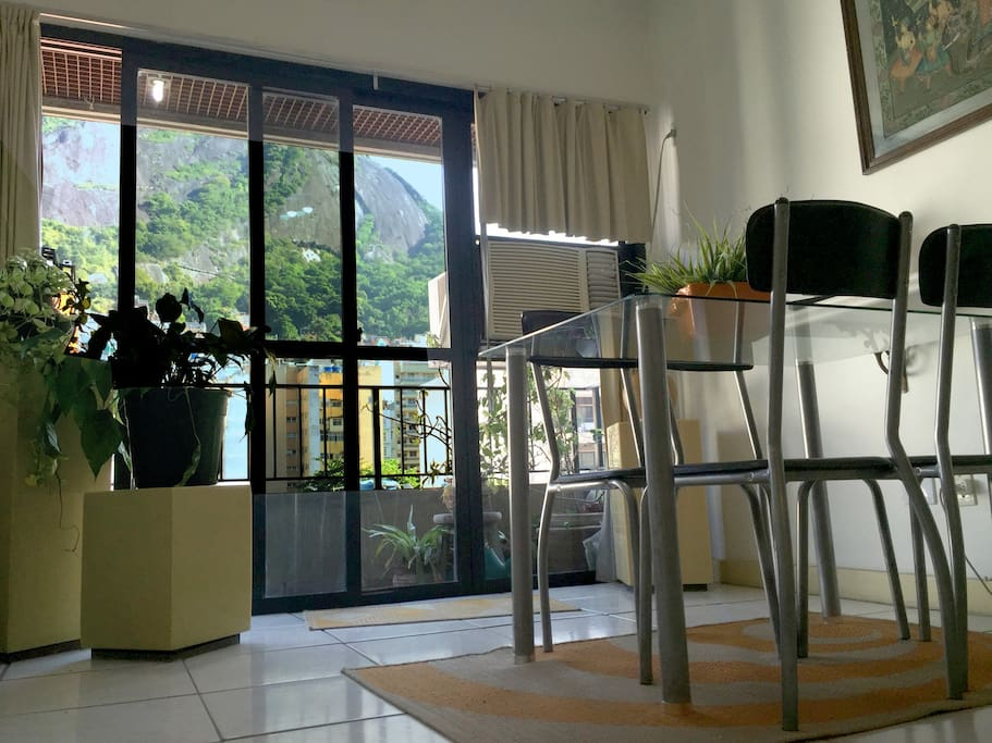 View from apartment.  Vista do apartamento.