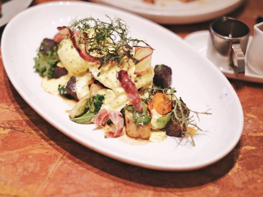 穿越英伦,只需在Highline吃一顿优雅早午餐~