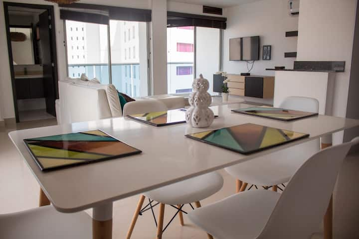 Hermoso duplex... just like home!