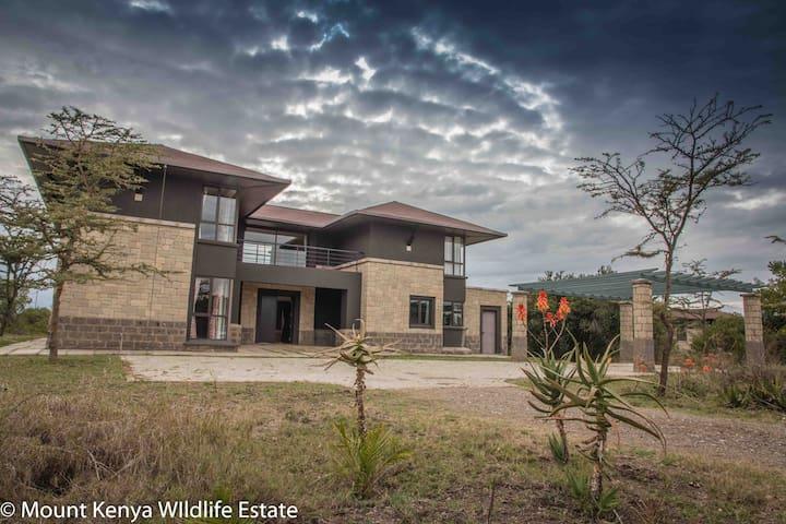 Villa in the Wild, Mount Kenya Wildlife Estate #59