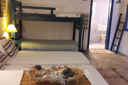 Livadi Palm Studios Schoinousa - Yellow room - Schoinousa - Bed & Breakfast