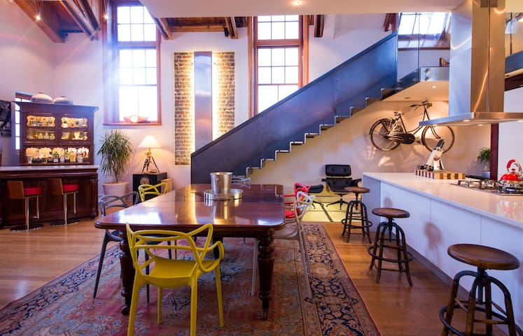 Eclectic House GreenPoint Cape Town - Kaapstad - Huis