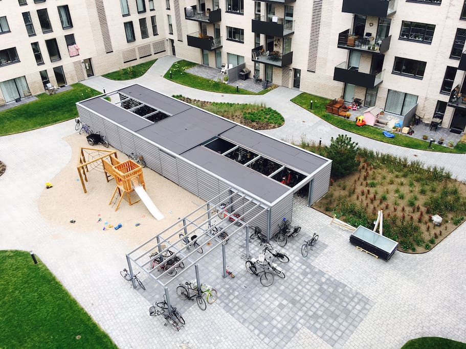 Outside - playground for kids