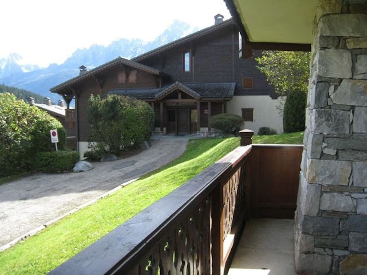 Breathe the fresh mountain air on your private balcony!