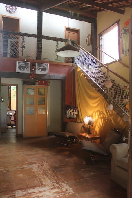 Entrada da casa.