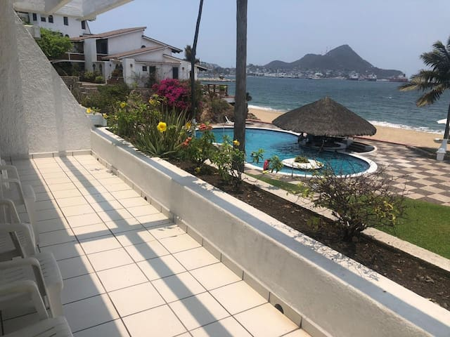Increíble departamento a pie de playa
