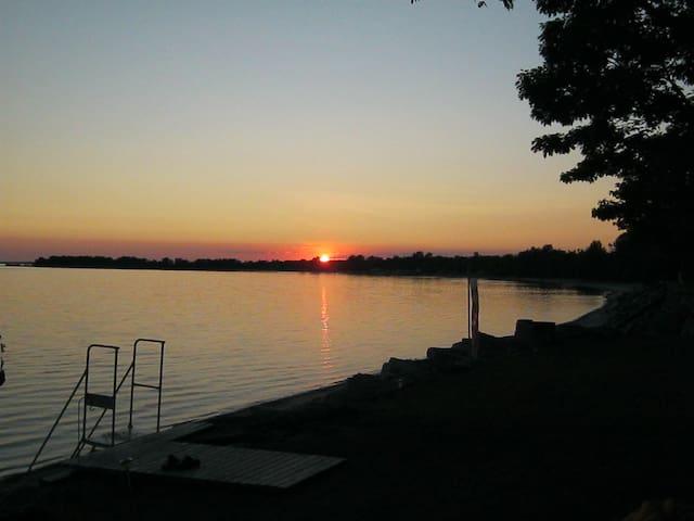 Sunset in beautiful Sandy Bay