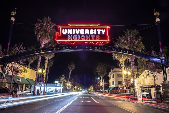 Fun University Heights Condo!