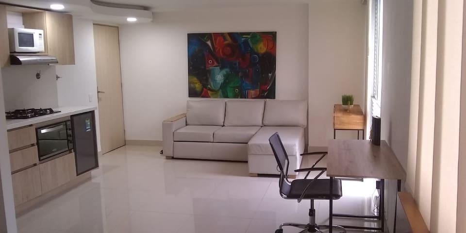 ★Cozy Studio, El Poblado Neighborhood!