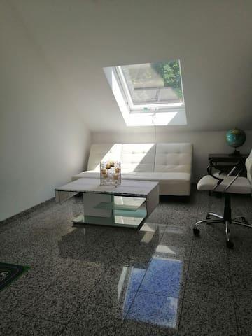 Grand et bel appartement situé à Steinen .