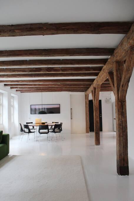open loft space