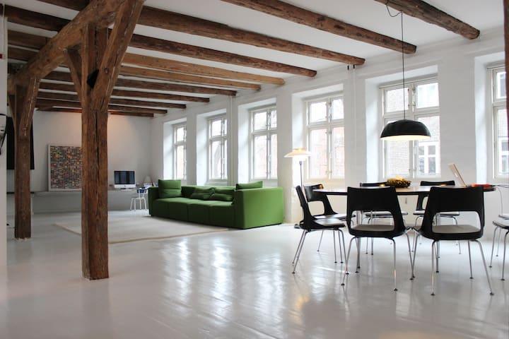 Big&Bright NYstyle Loft in Norrebro - Copenhague - Loft