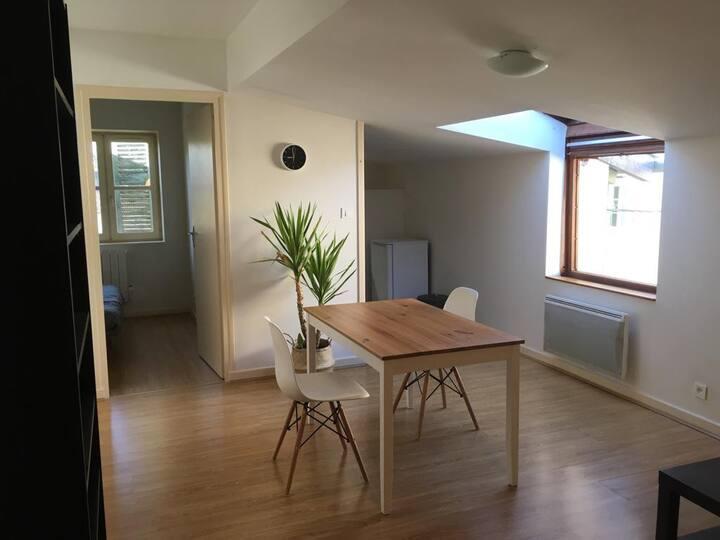 Appartement spacieux en hyper centre