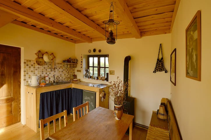 Hostel at traditional farm in Breb