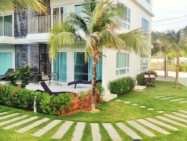 Beautiful Sea Condo nearby Hua Hin - Sam Roi Yot - Apartamento