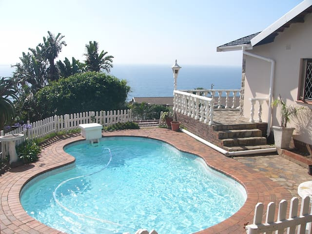 Ocean View Cottage - Bluff - Durban  - Hus