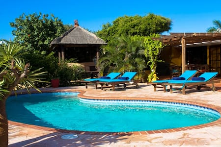 Close to nature with beautiful pool and wiews!