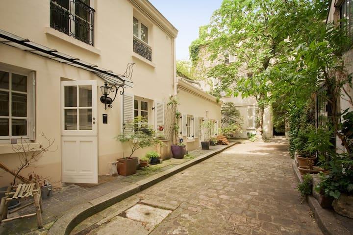 Charming bedroom Near Mouffetard - Paris - Townhouse