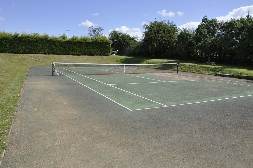 Tennis Court available all year