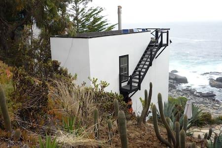 Originale maison face à la mer 2 - Zapallar - Huis
